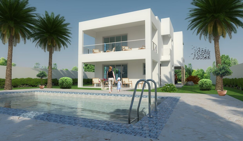 3 bedrooms villa for sale sosua - Villa Zafiro 0012
