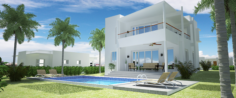 3 bedrooms house for sale sosua – Villa Rubi