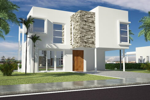 3 bedrooms house for sale sosua – Villa Rubi -1