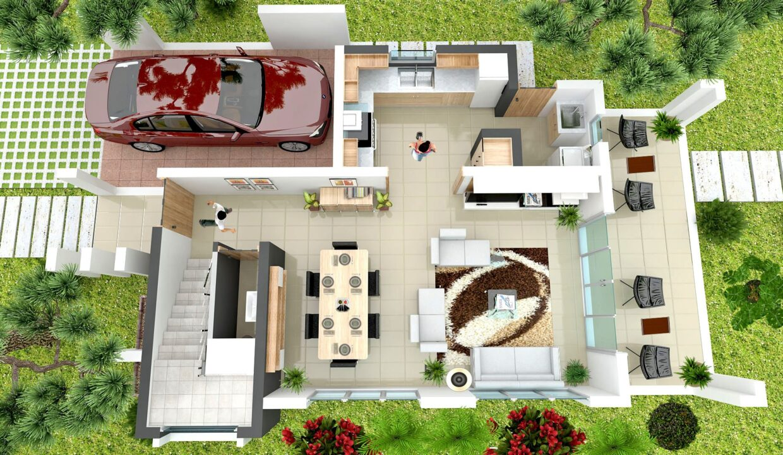 2 Bedrooms Villa for sale Sosua - Villa Onix 1ER NIVEL