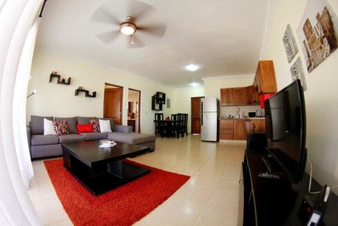 Beachfront 2 bedrooms apartment for sale cabarete - 1