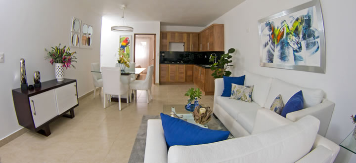 One bedroom for sale cabarete interior picture
