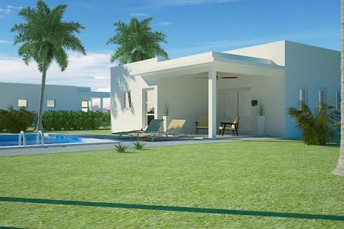 2 Bedrooms House for sale Sosua - villa Perla