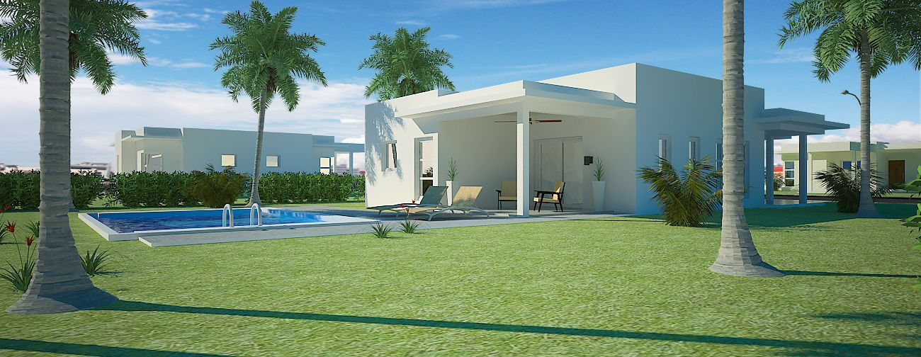 2 Bedrooms House for sale Sosua – villa Perla