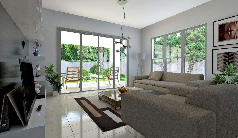 2 Bedrooms Villa for sale Sosua - Villa Onix - Sala 1