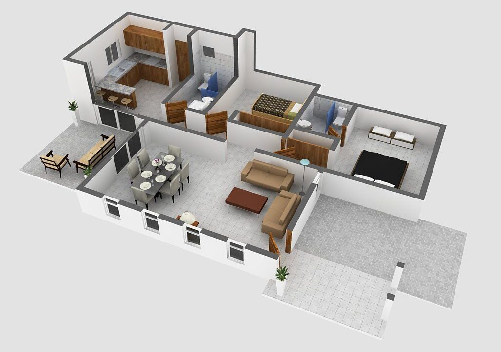 2 Bedrooms House for sale Sosua - villa Perla - 2