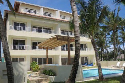 Beachfront 2 bedrooms apartment for sale cabarete