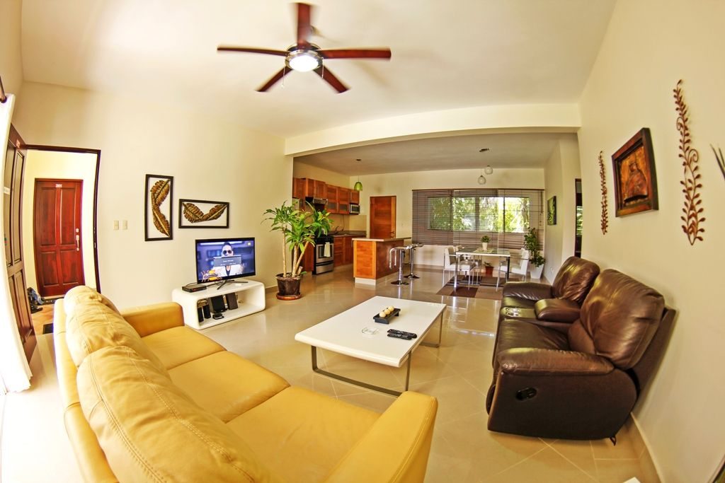 2 bedrooms, 2.5 bathroom, perfectly located apartment for sale in Cabarete