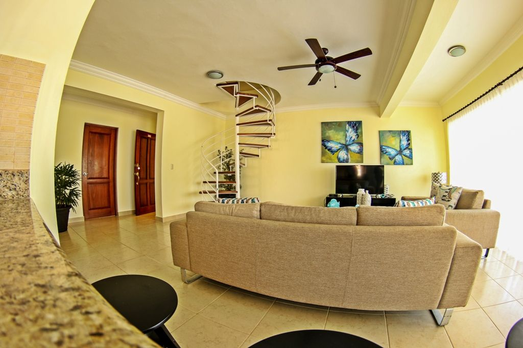 Awesome 3 bedroom penthouse for sale in Cabarete, DR 2