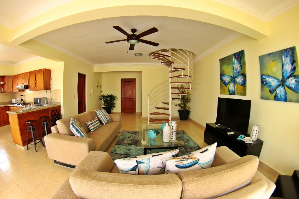 Awesome 3 bedroom penthouse for sale in Cabarete, DR 3