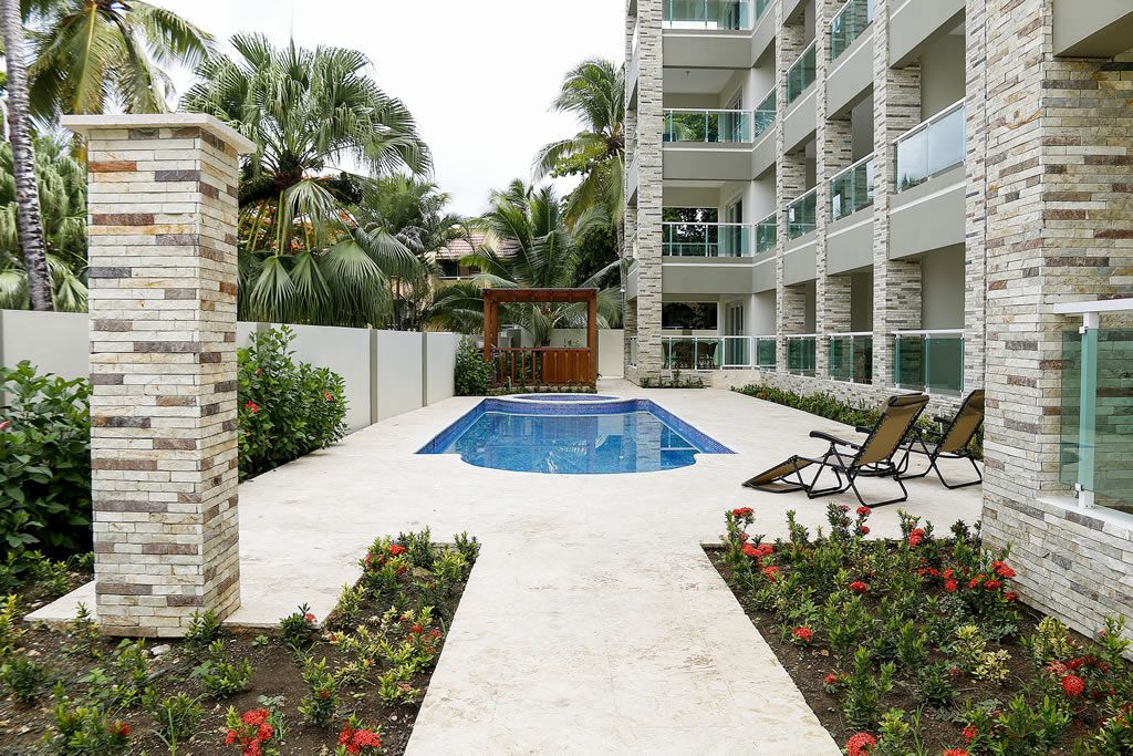 SO-002 Move-in ready 2 bedroom condo for sale in Sosua, Dominican Republic