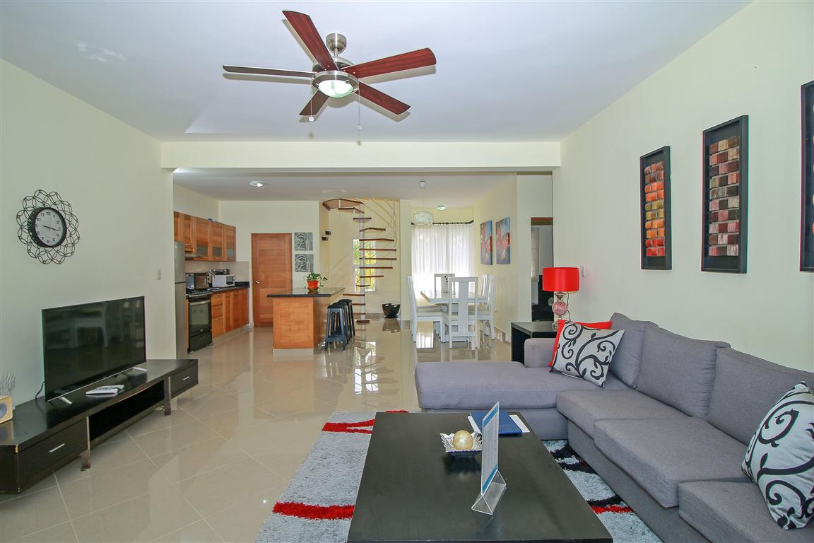 Close to everything- 3 Bedroom Condo For Sale In Cabarete- Dominican Republic