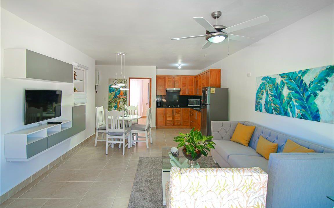 One bedroom oceanfront for sale in Cabarete (2)