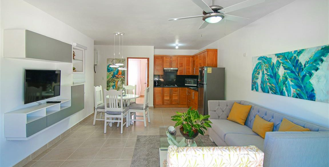 One bedroom oceanfront for sale in Cabarete (2)