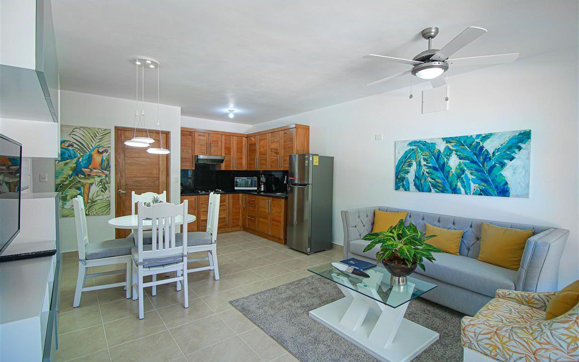 One bedroom oceanfront for sale in Cabarete (21)
